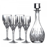 Royal Doulton Decanter Sets Wine Decanter With Wine Set of 4