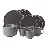 Royal Doulton Bread Street 16-Piece Set Slate