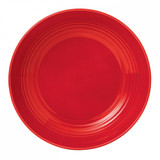 Royal Doulton Maze Chilli Red Salad Plate 8.75 Inch