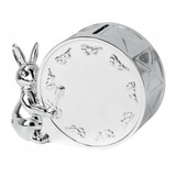Royal Doulton Bunnykin Silber Gifting Money Box