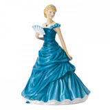 Royal Doulton Birthstone Petites December - Turquoise, 6.7 Inch