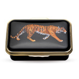 Halcyon Days Magnificent Wildlife Tiger Black Box ENMWT0223G EAN: 5060171125402