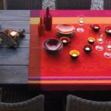 Le Jacquard Francais Provence Strawberry Tablecloth 69 x 69 Inch