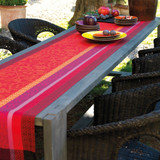 Le Jacquard Francais Provence Strawberry Runner 22 x 79 Inch