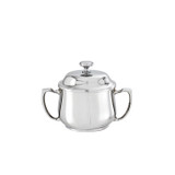Sambonet elite sugar bowl with cover & handles - 18/10 stainless steel MPN: 56012-23
