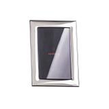 Sambonet flat picture frame 3 1/2 x 5 inch - silver bilaminate MPN: 59660L40