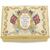 Halcyon Days Vivat Regina Enamel Box Cream ENVRE0414G EAN: 5060171120162