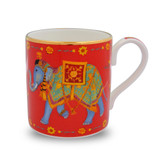 Halcyon Days Ceremonial Elephant Red Mug BCCIE06MGG EAN: 5060171148586