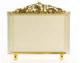 La Paris Versailles 5 x 7 Inch Brass Picture Frame - Horizontal