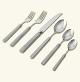 Match Pewter Gabriella 6 Piece Place Setting With Forged Knife