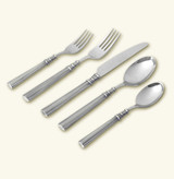 Match Pewter Lucia 5 Piece Place Setting With Forged Blade