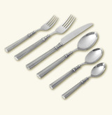 Match Pewter Lucia 6 Piece Place Setting With Forged Blade