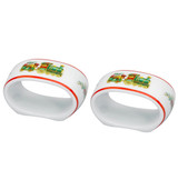 Vista Alegre Christmas Magic Set of 2 Napkin Rings MPN: PF537667