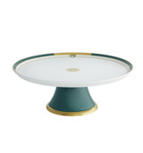 Vista Alegre Emerald Large Footed Cake Plate MPN: 21122011