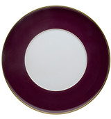 Vista Alegre Rocco Charger Plate Bordeaux And Gold MPN: 21104242