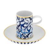 Vista Alegre Transatl¶Ÿntica Coffee Cup & Saucer MPN: 21117681