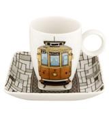 Vista Alegre Alma De Porto Coffee Cup & Saucer Electrico MPN: 21114206