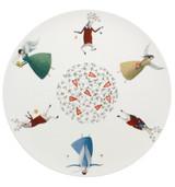 Vista Alegre Angels Charger Plate MPN: 21115123