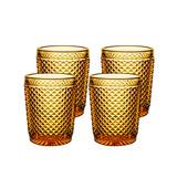 Vista Alegre Bicos Set of 4 Old Fashion Amber MPN: AB21/003259325004