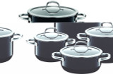 Silit Passion 8-pc Cookware Set Black, MPN: 21.0929.7178, UPC: 744004489880.