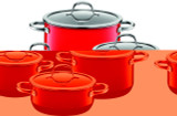 Silit Passion 8-pc Cookware Set Red, MPN: 21.0929.7093, UPC: 744004489873.