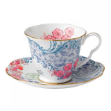 Wedgwood Butterfly Bloom Teacup and Saucer Set Spring Blossom  MPN: 5C107800047