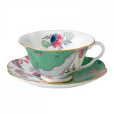 Wedgwood Butterfly Bloom Teacup and Saucer Set Butterfly Posy  MPN: 5C107800044