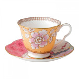Wedgwood Butterfly Bloom Teacup and Saucer Set Floral Bouquet  MPN: 5C107800045