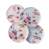 Wedgwood Cuckoo Tea Plates 8.25 Inch Set of Four MPN: 5C106805131