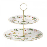 Wedgwood Wild Strawberry Cake Stand Two-Tier  MPN: 40001783