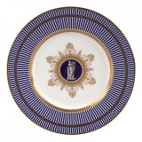 Wedgwood Anthemion Blue Accent Salad Plate 9 Inch MPN: 5C102501005