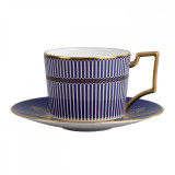 Wedgwood Anthemion Blue Tea Saucer MPN: 5C102502204