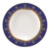 Wedgwood Anthemion Blue Rim Soup Plate 9 Inch MPN: 5C102501012