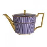 Wedgwood Anthemion Blue Teapot L/S MPN: 5C102502211