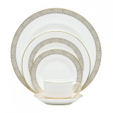 Vera Wang Gilded Weave Five 5 Piece Place Setting MPN: 5C101207730