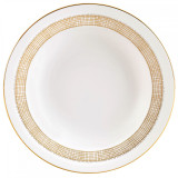 Vera Wang Gilded Weave Rim Soup Plate 9 Inch MPN: 5C101201012