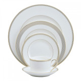 Vera Wang Golden Grosgrain Five 5 Piece Place Setting MPN: 50108507730