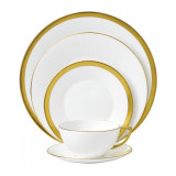 Wedgwood Jasper Conran Jasper Conran Gold Five 5 Piece Place Setting (Mixed) MPN: 40000266