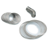 0.75 - 0.84 Inch Diameter Ring Memory Wire Bright Stainless Steel MPN: CRD601
