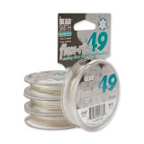 Plated Flex-Rite 49 .014 Inch Diameter 30Ft Strand Wire Sterling Silver MPN: CRD829/14-30