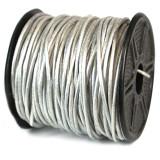 1300 2 mm. 25 Yard Metallic Silver Leather Cord MPN: CRD845/2.0-25