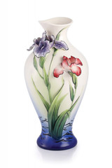 Franz Porcelain Elegance Iris Vase FZ02958