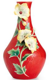 Franz Porcelain Flower Of Treasures Vase FZ02570C