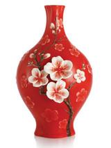 Franz Porcelain Fragrant Plum Blossom Small Vase FZ02986