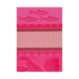 Le Jacquard Francais Tea Towel Saveurs De Bretagne Pink 60 x 80 Pure Cotton MPN: 21892 EAN: 3660269218928