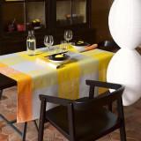 Le Jacquard Francais Tablecloth Fleur Kyoto Sun 175 x 175 Cotton and Acrylicic MPN: 22077 EAN: 3660269220778