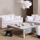 Le Jacquard Francais Tablecloth Kyoto Mist Round 175 Cotton and Acrylicic MPN: 22087 EAN: 3660269220877