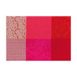Le Jacquard Francais Placemat Kyoto Cherry 52 x 38 Cotton and Acrylicic MPN: 22097 EAN: 3660269220976