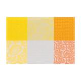 Le Jacquard Francais Placemat Fleurs Kyoto Sun 52 x 38 Cotton and Acrylicic MPN: 22098 EAN: 3660269220983