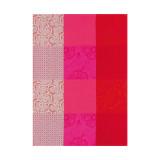 Le Jacquard Francais Tea Towel Fleurs De Kyoto Cherry 60 x 80 Pure Cotton MPN: 22103 EAN: 3660269221034